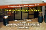 What Is New In Diabetes: An Update
