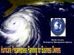 Hurricane Preparedness Planning for Business Owners