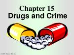 Chapter 15 Drugs and Crime