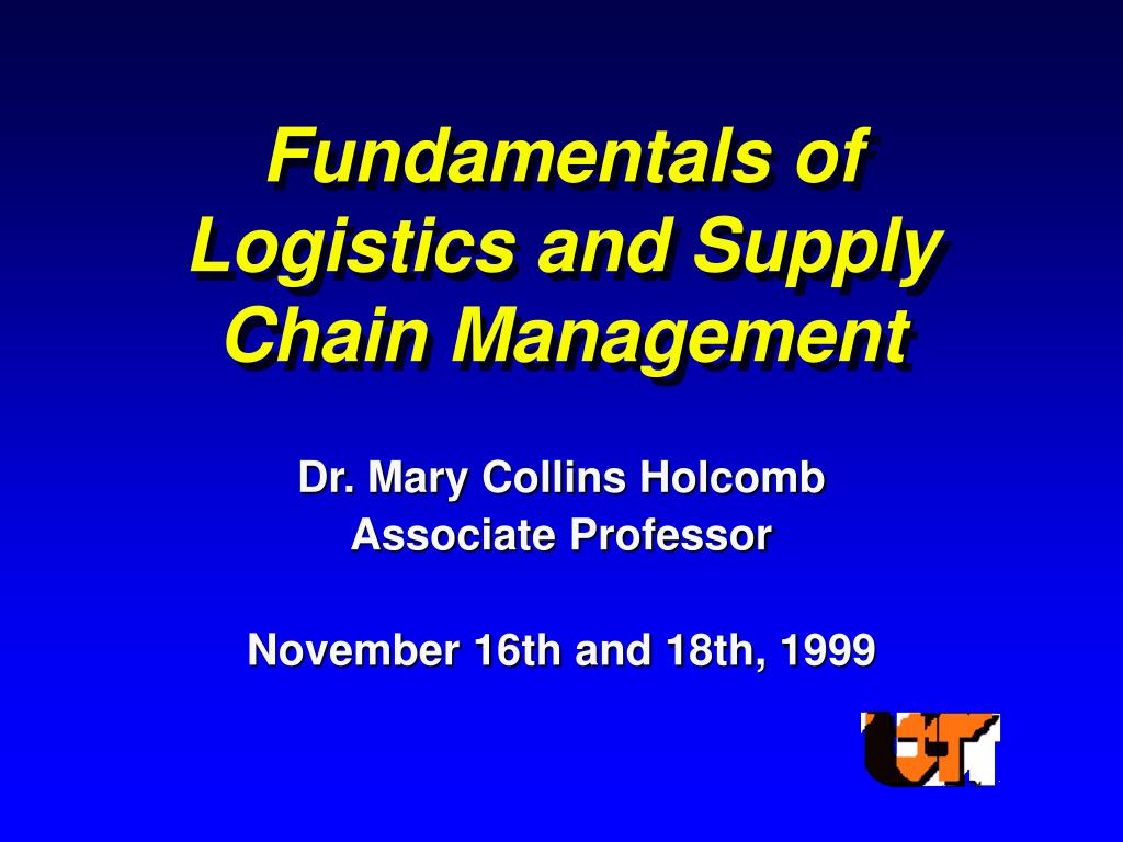 dr mary collins holcomb associate professor november 16th and 18th 1999 l.