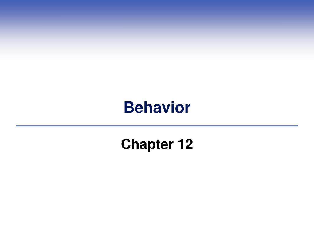 behavior l.