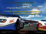 Marketing-Oriented Public Relations and Word-of-Mouth Management