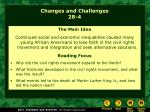 Changes and Challenges 28-4