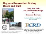 Regional Innovation During Boom and Bust