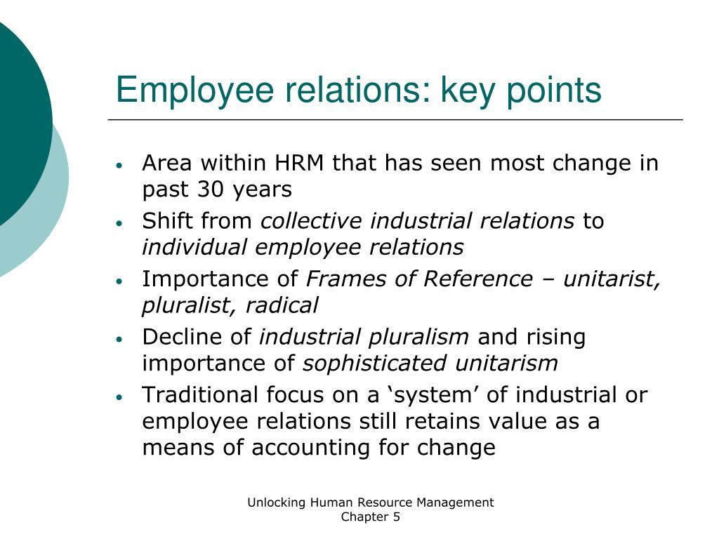 employee relations key points l.
