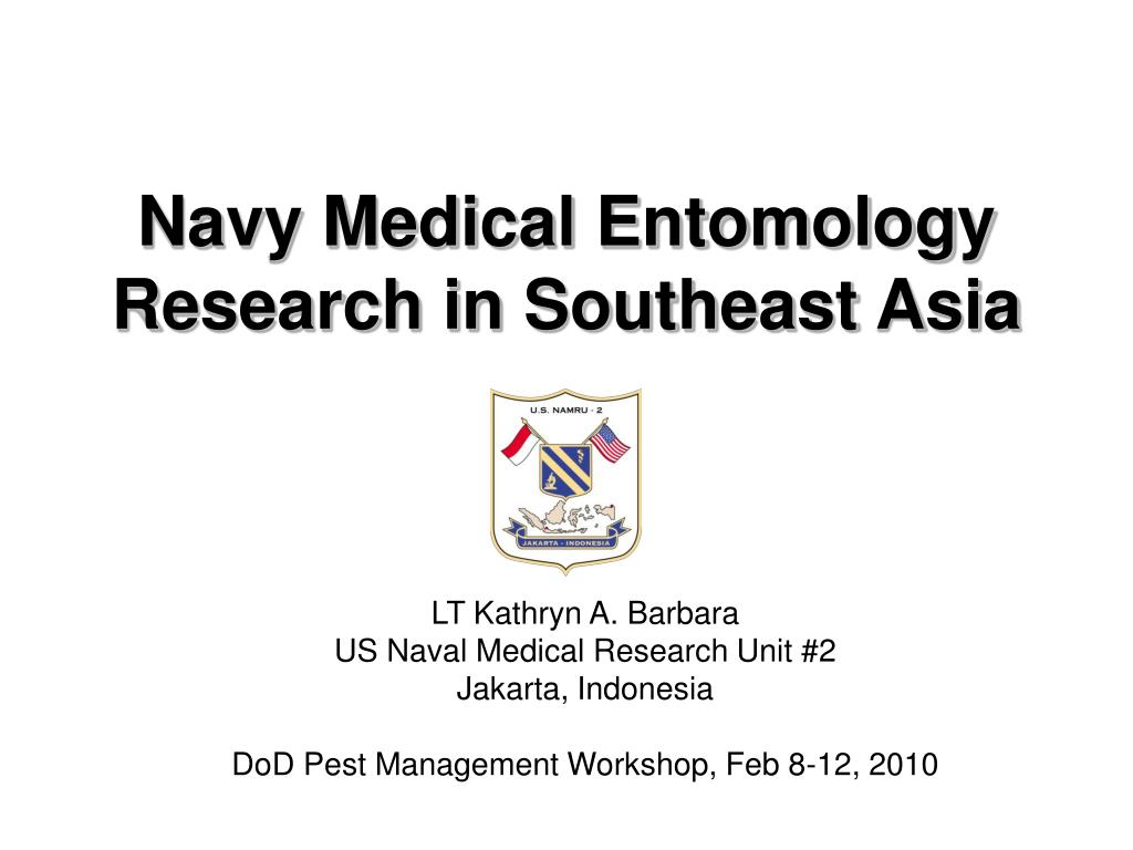 navy medical entomology research in southeast asia l.