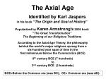 The Axial Age
