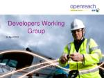 Developers Working Group
