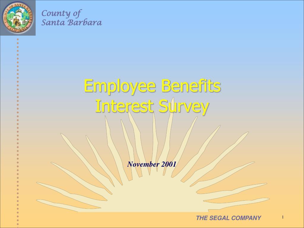 employee benefits interest survey l.