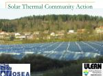 Solar Thermal Community Action