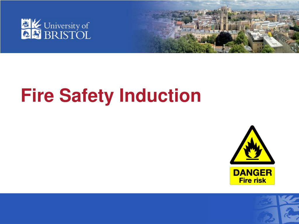 fire safety induction l.