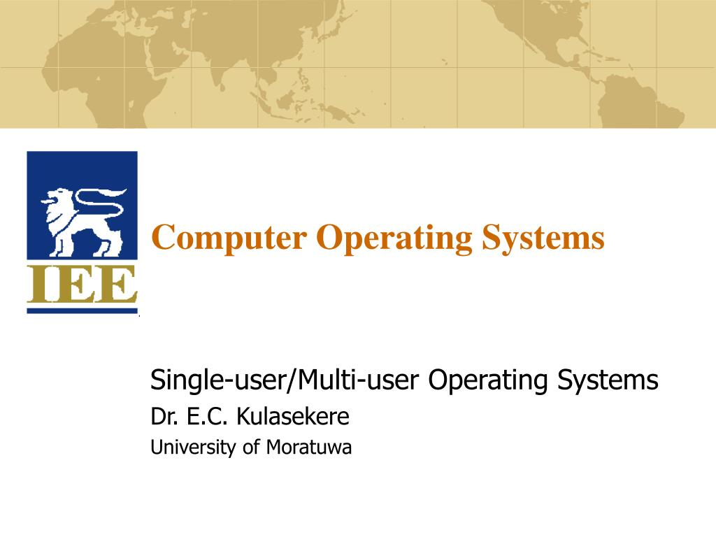 computer operating systems l.