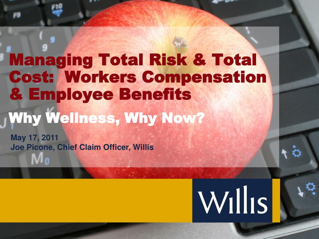 managing total risk total cost workers compensation employee benefits l.