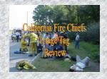 California Fire Chiefs Triage Tag  Review
