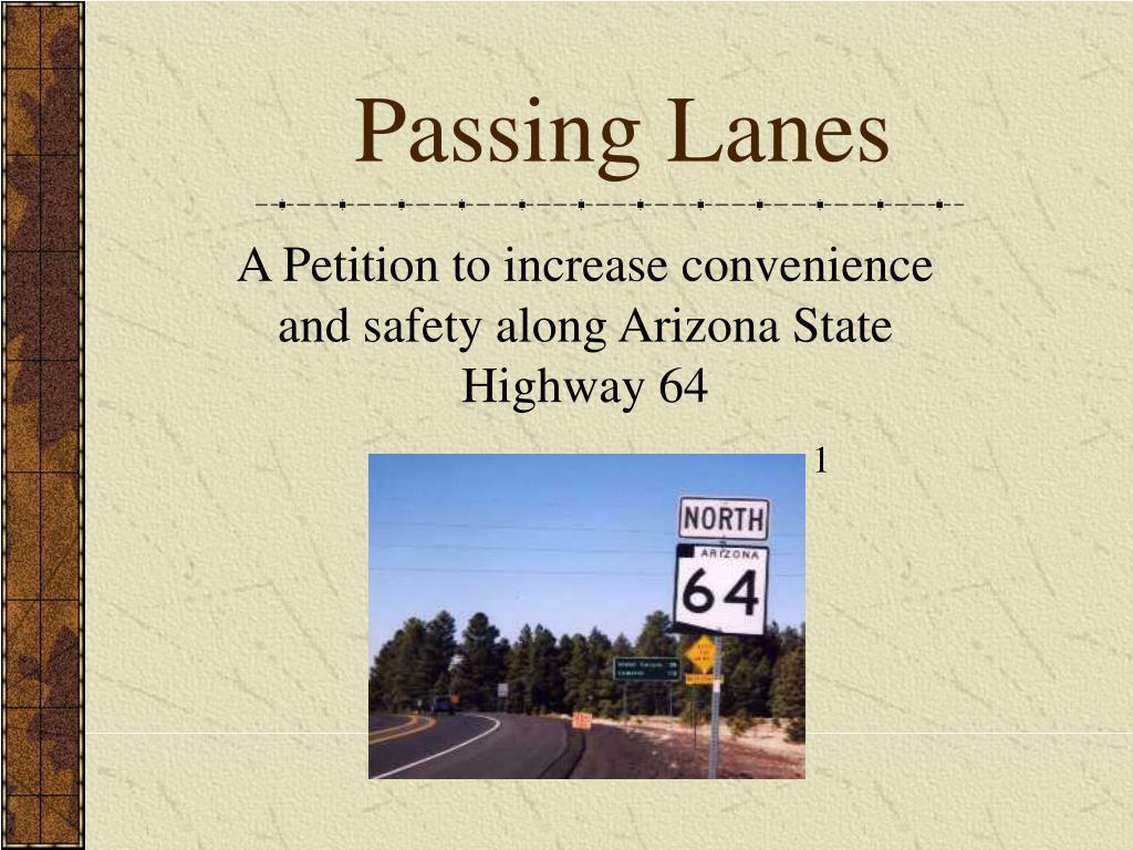 passing lanes l.