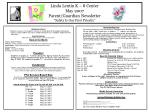 "Linda Lentin K – 8 Center May 2007 Parent/Guardian Newsletter ""Safety Is Our First Priority"""