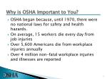 Why is OSHA Important to You?