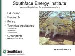 Southface Energy Institute responsible solutions for environmental living