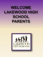 Welcome  Lakewood High School PArents