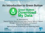 An Introduction to Green Button