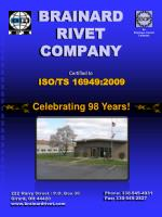 BRAINARD  RIVET  COMPANY