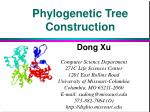 Phylogenetic Tree Construction