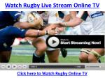 Watch Wales vs England Live Rugby Stream Kick Off-Six Nation
