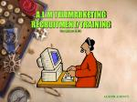A.L.M TELEMARKETING RECRUITMENT/TRAINING (New Syllabus 2004-1}