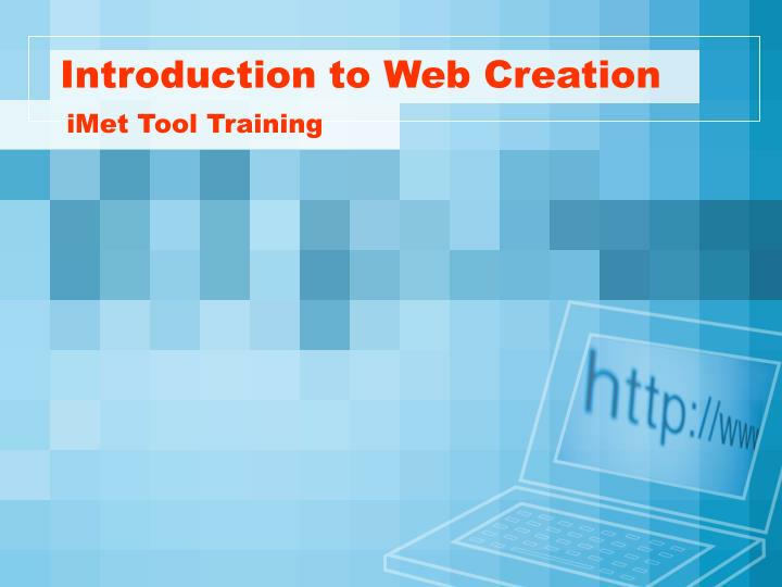 introduction to web creation n.