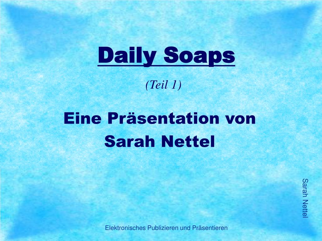 daily soaps l.