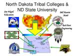 North Dakota Tribal Colleges & ND State University
