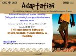 Mbareck DIOP Chair, Advisory Board, The Climate Change Adaptation in Africa Program