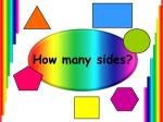 How many sides?