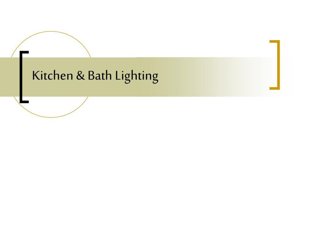 kitchen bath lighting l.