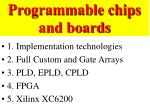 Programmable chips and boards