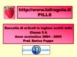 http://www.lafragola.it PILLS