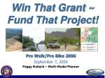 Win That Grant ~ Fund That Project!
