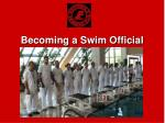 Becoming a Swim Official